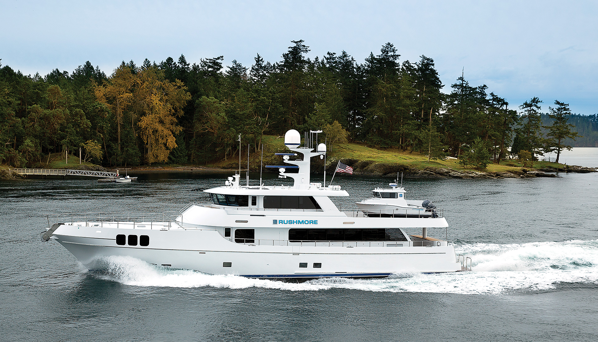 106' Yacht Rushmore Built by Nordlund Boat Company