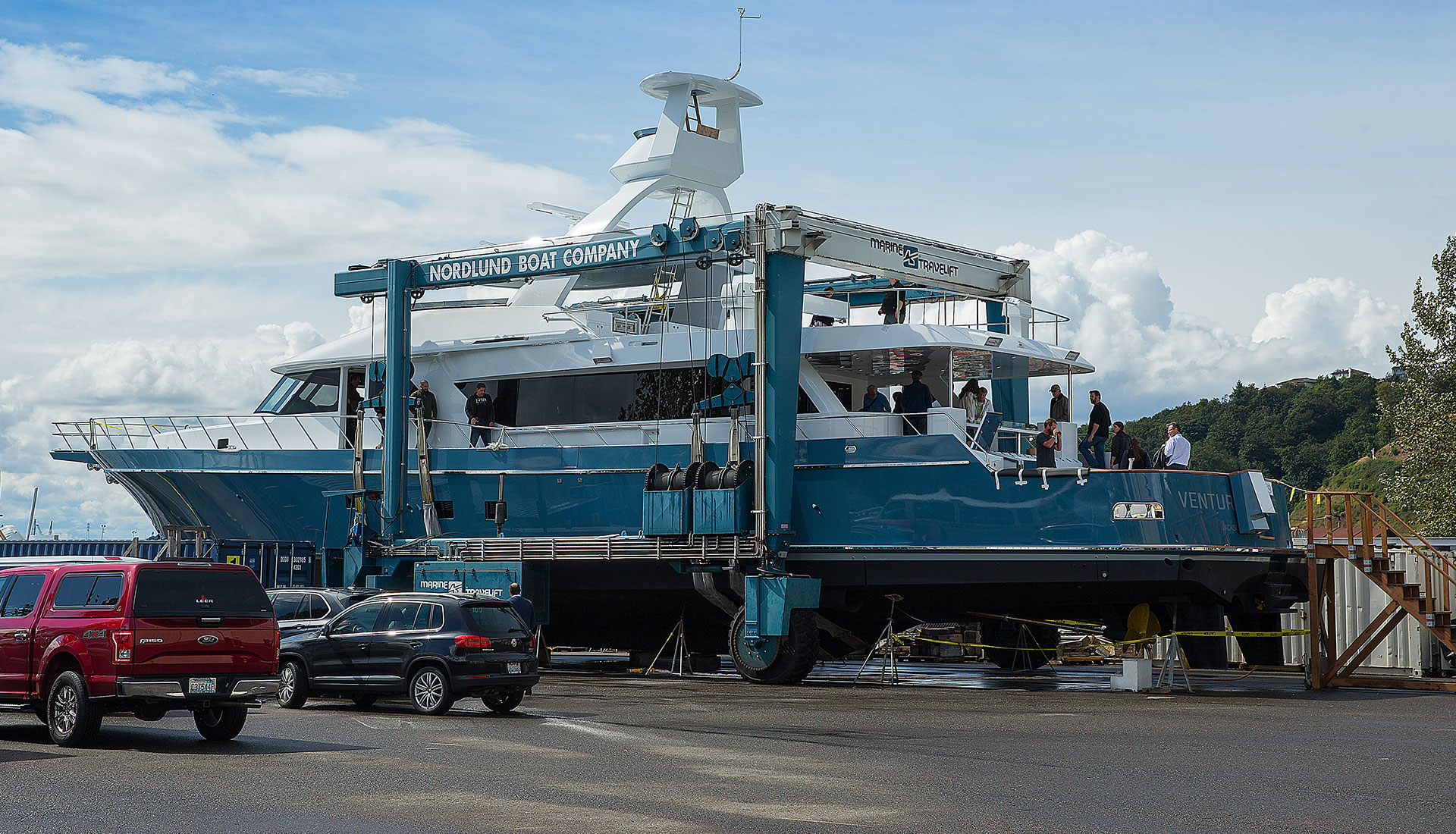 Nordlund 106' Sportfishing Yacht Venture More Being Launched