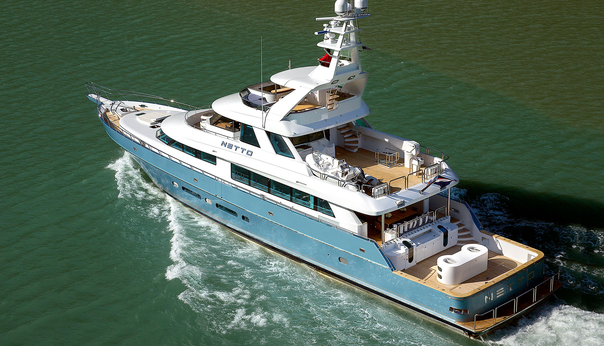 Nordlund 115' Yachtfisher Netto Under Way