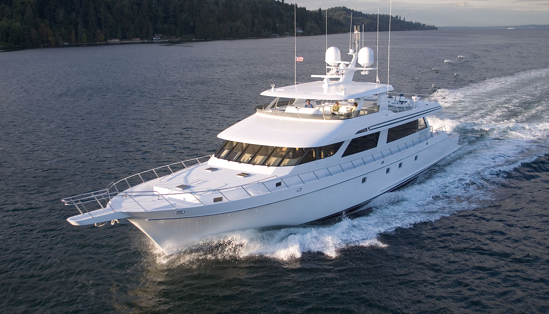 118' Sportfisher Yacht Southern Way Built by Nordlund Boat Company
