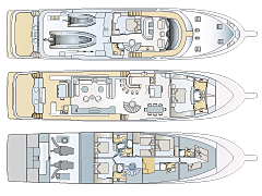 Deck Plans for Nordlund 115' Expedition Yacht
