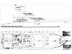 Deck Plans for the 88' El Vato Sport Fisher Built by Nordlund Boat Company