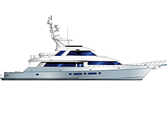 Profile of 115' Yachtfisher Netto by Nordlund