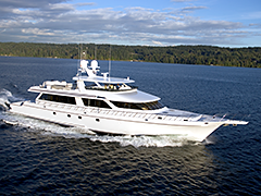 Exterior Photos of 118' Yacht Southern Way Built by Nordlund Boat Company