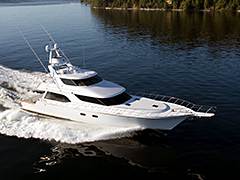 Running Photos of 88' Sportfisher El Vato Built by Nordlund Boat Company