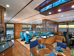 Interior Photos of the 106' Yacht Rushmore by Nordlund