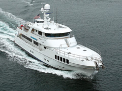 Rushmore Yacht by Nordlund Under Way