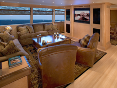 Interior Photos of 118' Southern Way Yacht Built by Nordlund