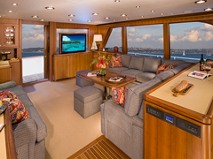 Interior Photos of 78' Shanakee Yacht Built by Nordlund