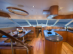 Interior Photos of 88' Sport Fishing Yacht El Vato Built by Nordlund Boat Company