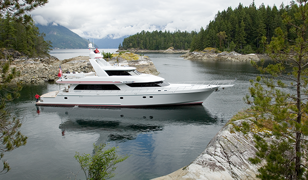 Nordlund 110' Victorious Yacht in Power and Motoryacht Magazine