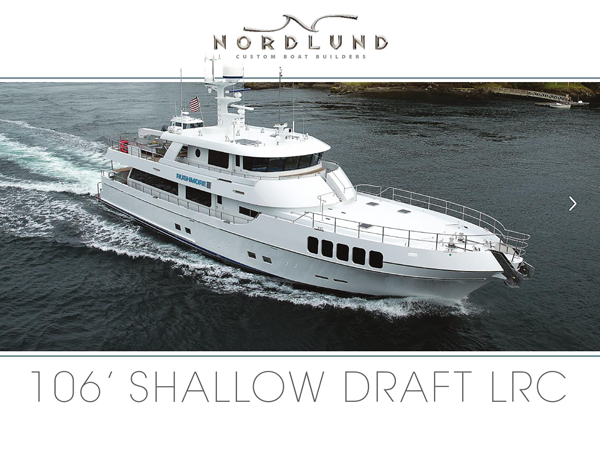 106' Shallow Draft Long Range Cruiser Online Brochure