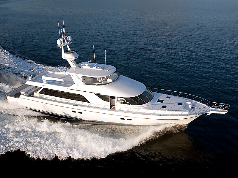 111' Yachtfisher Illusion Built by Nordlund