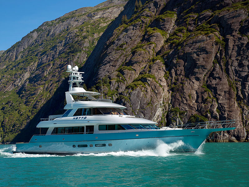 115' Yachtfisher Netto Built by Nordlund Boat Company